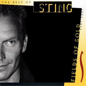 Fields of Gold: The Best of Sting 1984–1994 - Image: Sting fields of gold