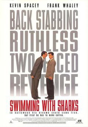 Swimming with Sharks - Theatrical release poster