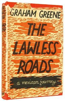 over of the hardback edition of The Lawless Roads