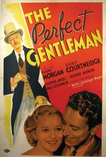 <i>The Perfect Gentleman</i> (film) 1935 film by Tim Whelan
