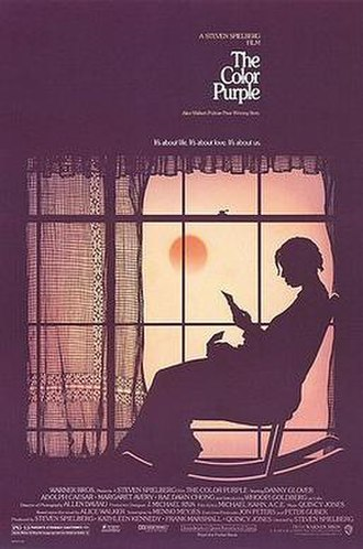 The Color Purple (film) - Theatrical release poster by John Alvin