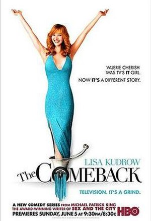 The Comeback (TV series) - Image: The Comeback TV show poster