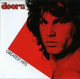 Greatest Hits (The Doors album) - Image: The Doors Greatest Hits 1980