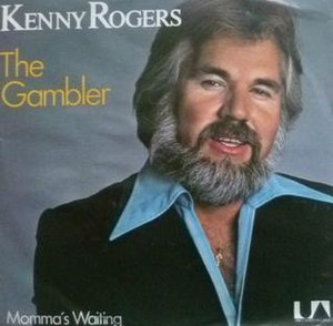 The Gambler (song) - Image: The Gambler Kenny Rogers