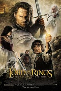 <i>The Lord of the Rings: The Return of the King</i> 2003 fantasy film directed by Peter Jackson
