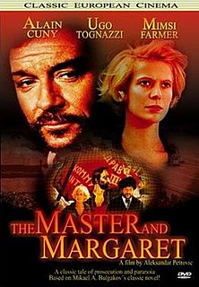 <i>The Master and Margaret</i> (1972 film) 1972 film by Aleksandar Petrović