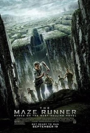 The Maze Runner (film) - Theatrical release poster