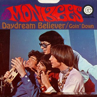 Daydream Believer - Image: The Monkees single 05 Daydream Believer