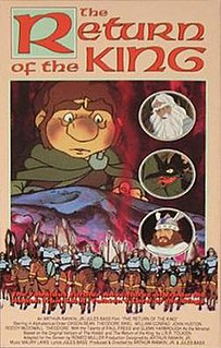<i>The Return of the King</i> (1980 film) 1980 animated musical television film directed by Jules Bass