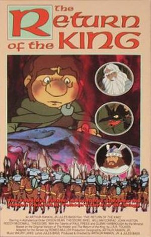 The Return of the King (1980 film) - Original VHS release cover