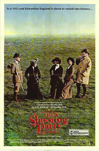 The Shooting Party - Film poster