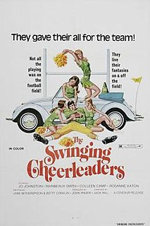 <i>The Swinging Cheerleaders</i> 1974 film by Jack Hill