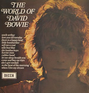 The World of David Bowie - Image: The World of David Bowie cover