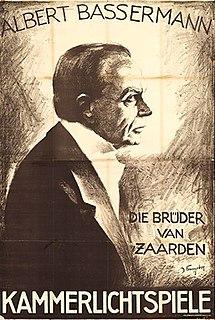 <i>The Zaarden Brothers</i> 1918 film