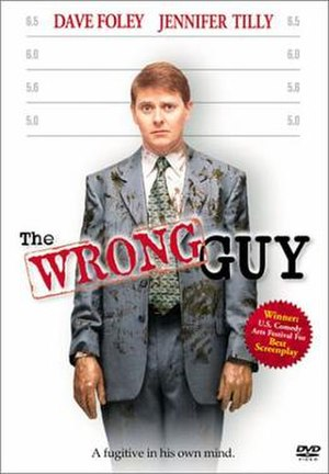 The Wrong Guy - DVD cover
