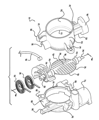 Throttle - The components of a typical throttle body
