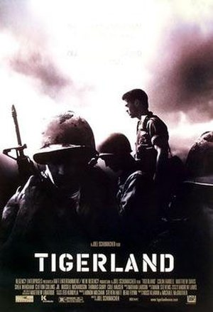 Tigerland - Theatrical release poster