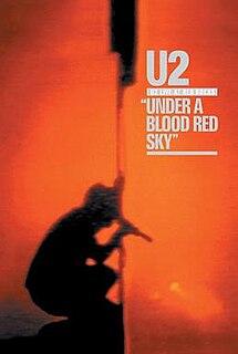 <i>U2 Live at Red Rocks: Under a Blood Red Sky</i> 1984 concert video by U2