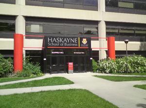 Haskayne School of Business - Image: Uof C Haskayne 2