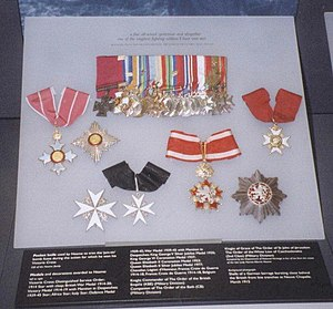 Philip Neame - Neame's medal collection at the Imperial War Museum.