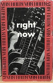 Right Now (Van Halen song) Van Halen song