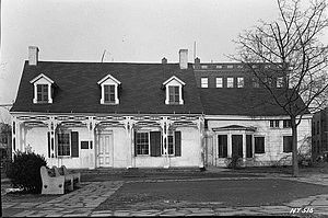 New Utrecht, Brooklyn - The Van Pelt Manor house, at 18th Avenue and 82nd Street was built in 1686 and razed in 1952
