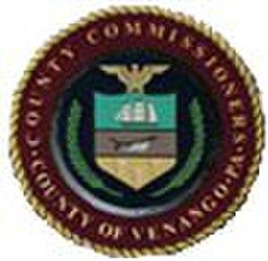 Venango County, Pennsylvania - Image: Venango County pa seal