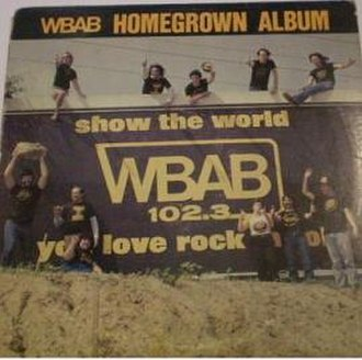 WBAB Homegrown Album - Image: WBAB Homegrown Album