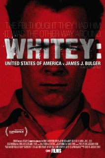 <i>Whitey: United States of America v. James J. Bulger</i> 2014 documentary film directed by Joe Berlinger