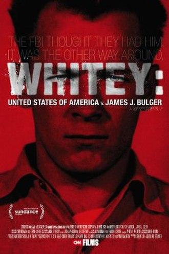 Whitey: United States of America v. James J. Bulger - Sundance Film Festival poster