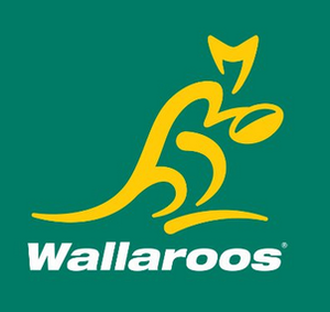 Australia women's national rugby union team - Image: Wallaroos Australian women's rugby team logo