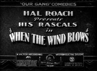 When the Wind Blows (1930 film) - Image: When the wind blows