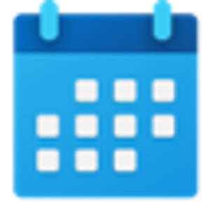Calendar (Windows) - Image: Windows 10 Calendar icon
