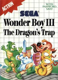 <i>Wonder Boy III: The Dragons Trap</i> 1989 video game