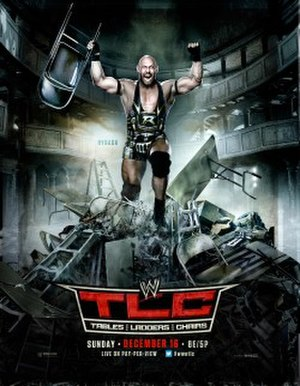 TLC: Tables, Ladders & Chairs (2012) - Promotional poster featuring Ryback