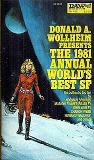 <i>The 1981 Annual Worlds Best SF</i> book by Donald A. Wollheim