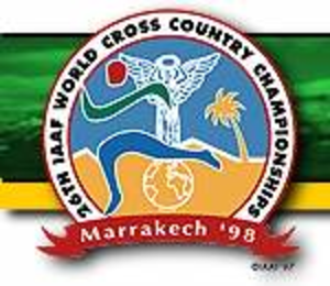 1998 IAAF World Cross Country Championships - Image: 1998 IAAF World Cross Country Championships Logo