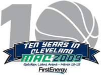 Logo for the 2009 Mid-American Conference tournament