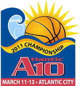 2011 Atlantic 10 Tournament logo