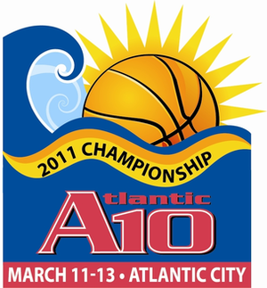 2011 Atlantic 10 Men's Basketball Tournament - 2011 Atlantic 10 Tournament logo