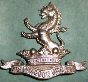 7th Dragoon Guards - Regimental Badge