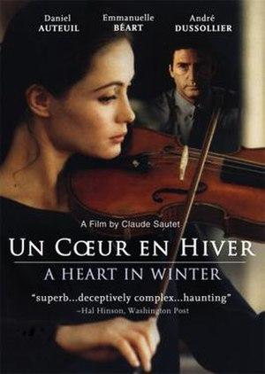 A Heart in Winter - Image: A Heart in Winter