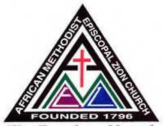 African Methodist Episcopal Zion Church - Image: African Methodist Episcopal Zion Logo