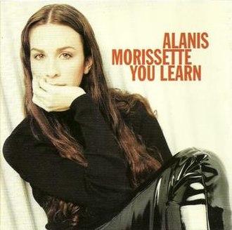 You Learn - Image: Alanis You Learn Single US