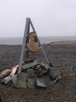 Kolchak Island - Kolchak Monument on Kolchak Island.