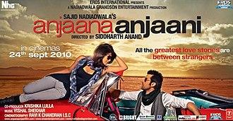 Anjaana Anjaani - Theatrical release poster