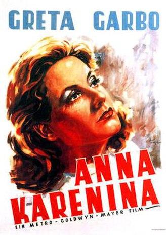 Anna Karenina (1935 film) - 1935 German Theatrical Poster
