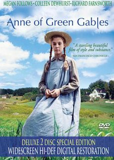 <i>Anne of Green Gables</i> (1985 film) 1985 television miniseries directed by Kevin Sullivan