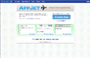 AppJet - Image: Appjet screenshot