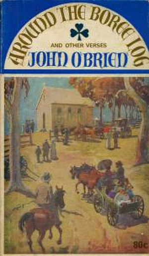 John O'Brien (poet) - Cover of 1968 edition of Hartigan's Around The Boree Log anthology first published 1921